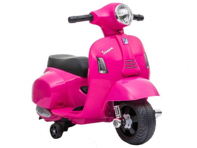 Pink Vespa GTS Scooter Licensed | Kids 6v electric ride on toy bike | TOY&MODEL
